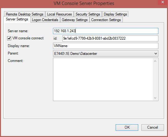 RDCMan v2.7 Unknown disconnection reason 3848 (2/3)