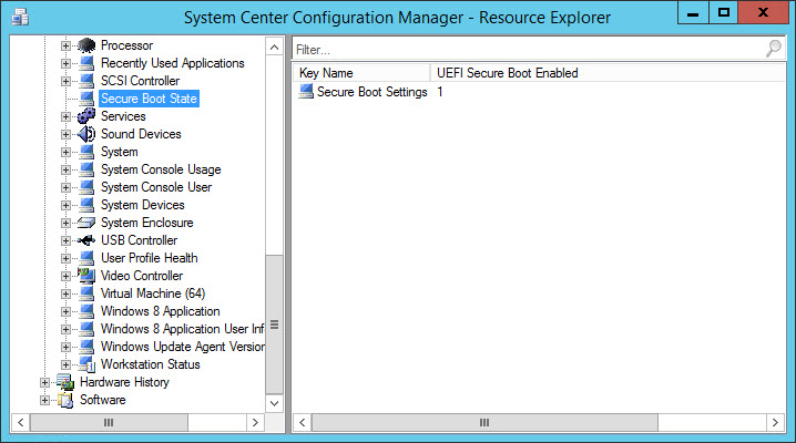 Inventory Secure Boot State and UEFI with ConfigMgr (5/5)