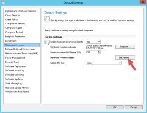 01 Default Client Settings