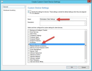 08 Create Custom Client Device Settings