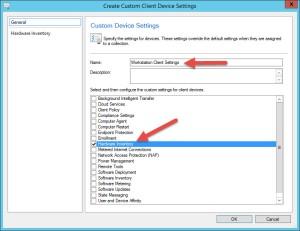 08 Create Custom Client Device Settings