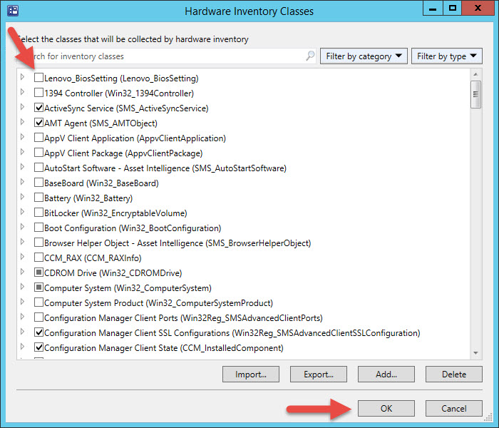 How to Inventory Lenovo BIOS and UEFI Settings with ConfigMgr ...