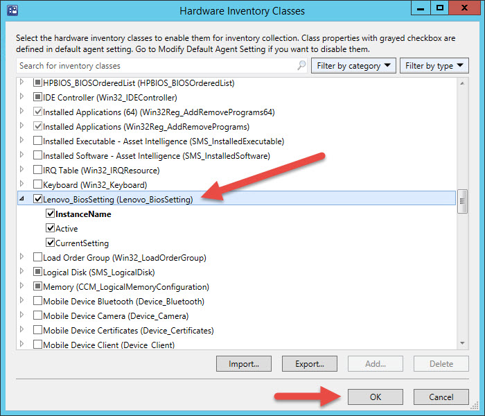 How to Inventory Lenovo BIOS and UEFI Settings with ConfigMgr