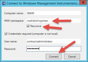 04 Dell-Connect to WMI