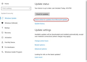 001-check-online-for-updates-from-microsoft-update