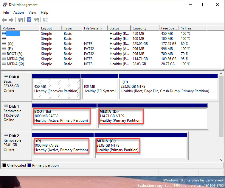 Create multiple partitions on ANY USB Flash Drive | Mike's