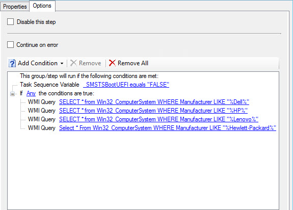 Using MBR2GPT with Configuration Manager OSD | Mike's Tech Blog
