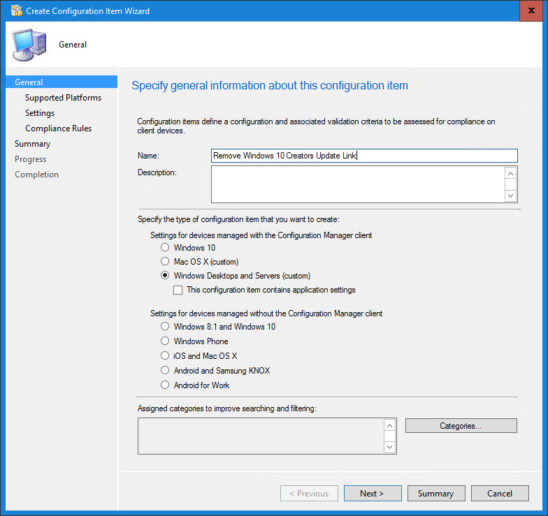 """How to Remove """"Windows 10 Creators Update is on its way"""" link using"""