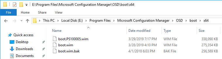 1 WDS PXE Server and Boot Images from multiple ConfigMgr Sites